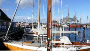 Segelboote in Laboe
